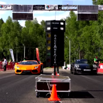 Aventador Vs. 911 Turbo S In a Stock Drag Race