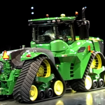 John Deere Finally Shows Off The Four-Track, 620hp John Deere 9RX Prototype