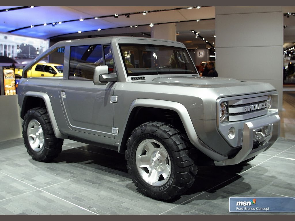 Will The 2015 Ford Bronco Be a Diesel? Potentially ...