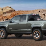 Diesel-Powered Chevy Colorado ZR2 Concept Revealed At The 2014 Los Angeles Auto Show