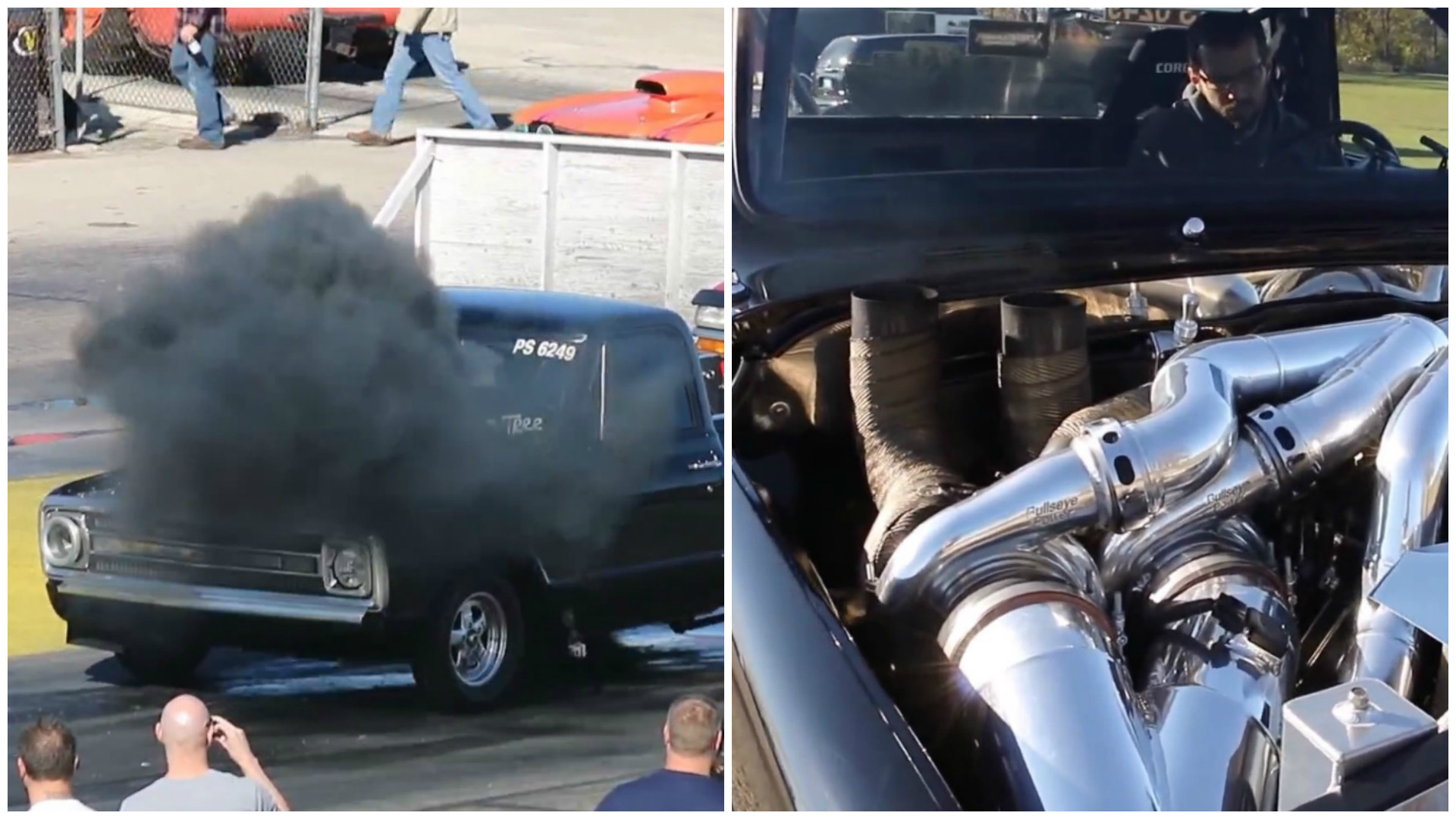 1969 Chevy C10 Features Three Turbochargers And A Duramax Diesel
