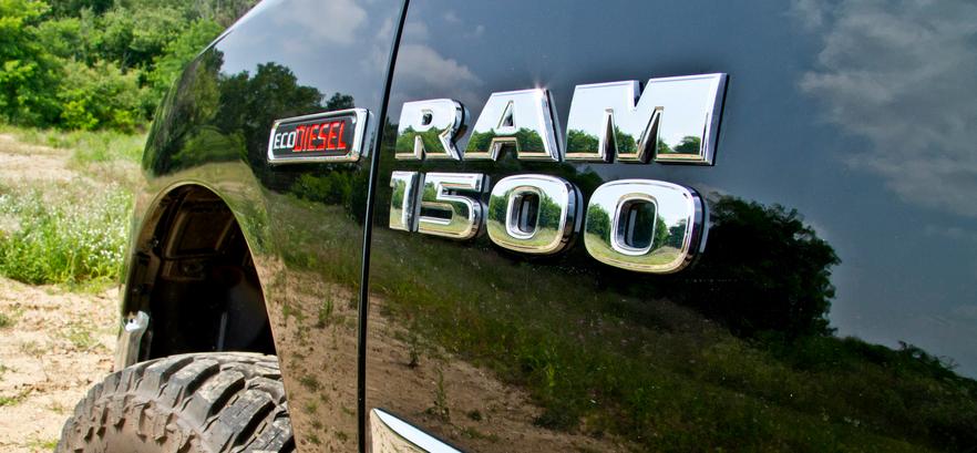 FCA Acknowledges Certain Ram 1500 Ecodiesel Trucks Are