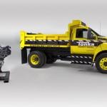 Ford & Tonka Teamed Up To Create Fully Functional, 6.7-Liter Diesel V-8 Dump Truck!