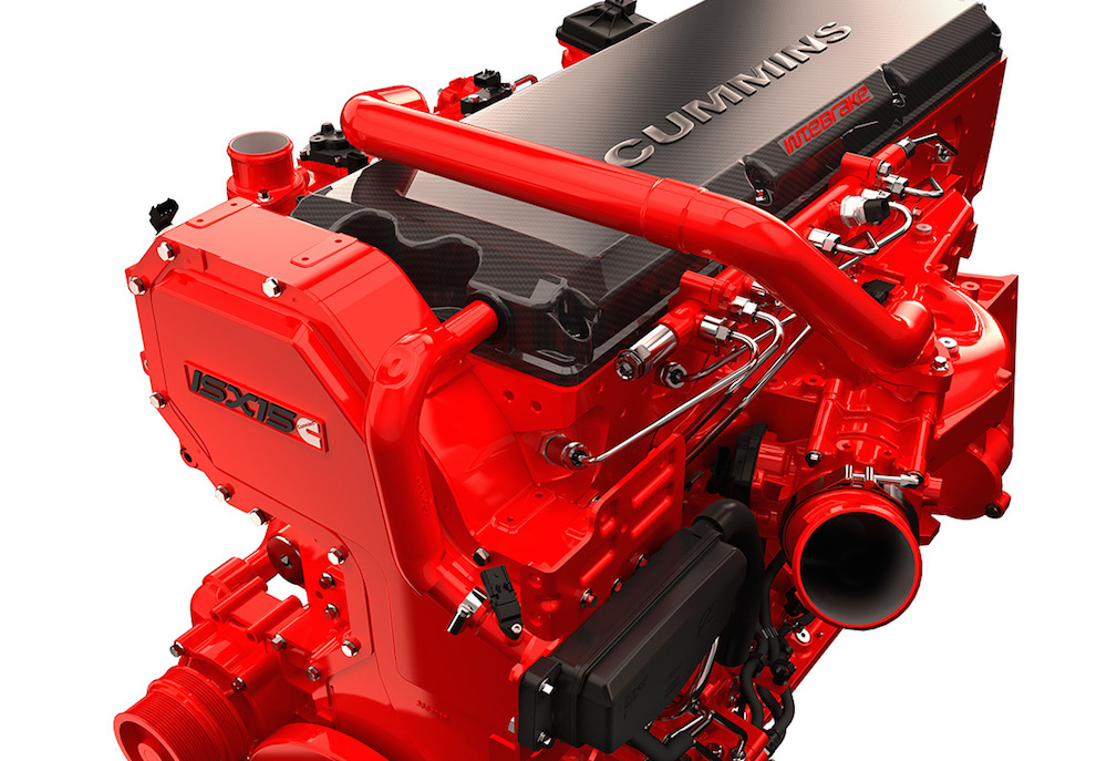 Cummins Unveils 2017 Isx15 Engine At The 2015 Mid America
