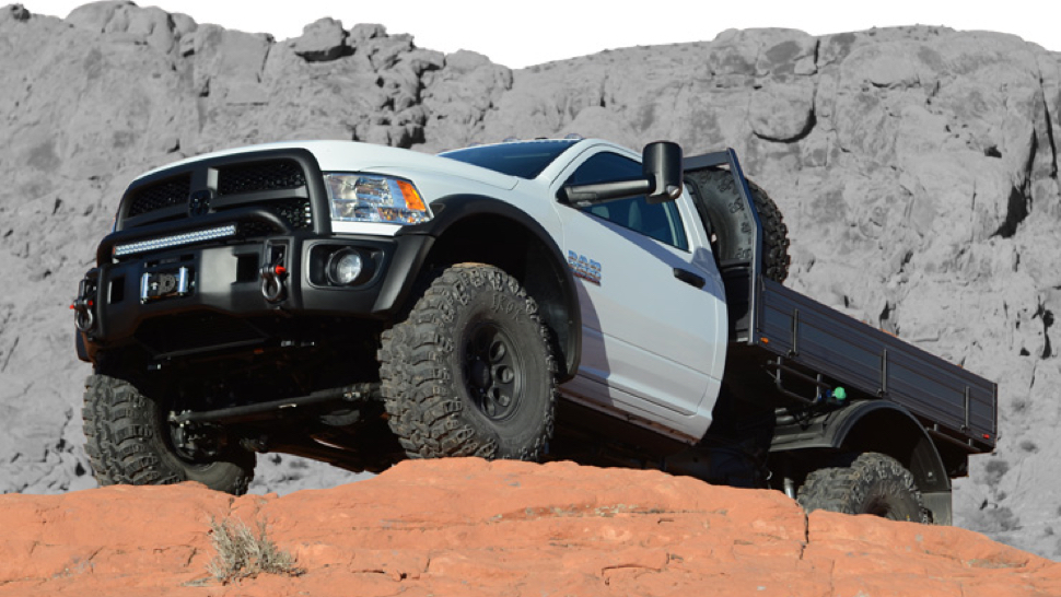 American Expedition Vehicles >> American Expedition Vehicles Turned A Ram Into A Beast Of A Work Rig