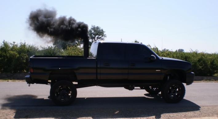 Mackenzie Bronson Via Pinterest Diesel Enthusiasts Have Long Been Rolling Coal