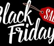 Black Friday (black background)