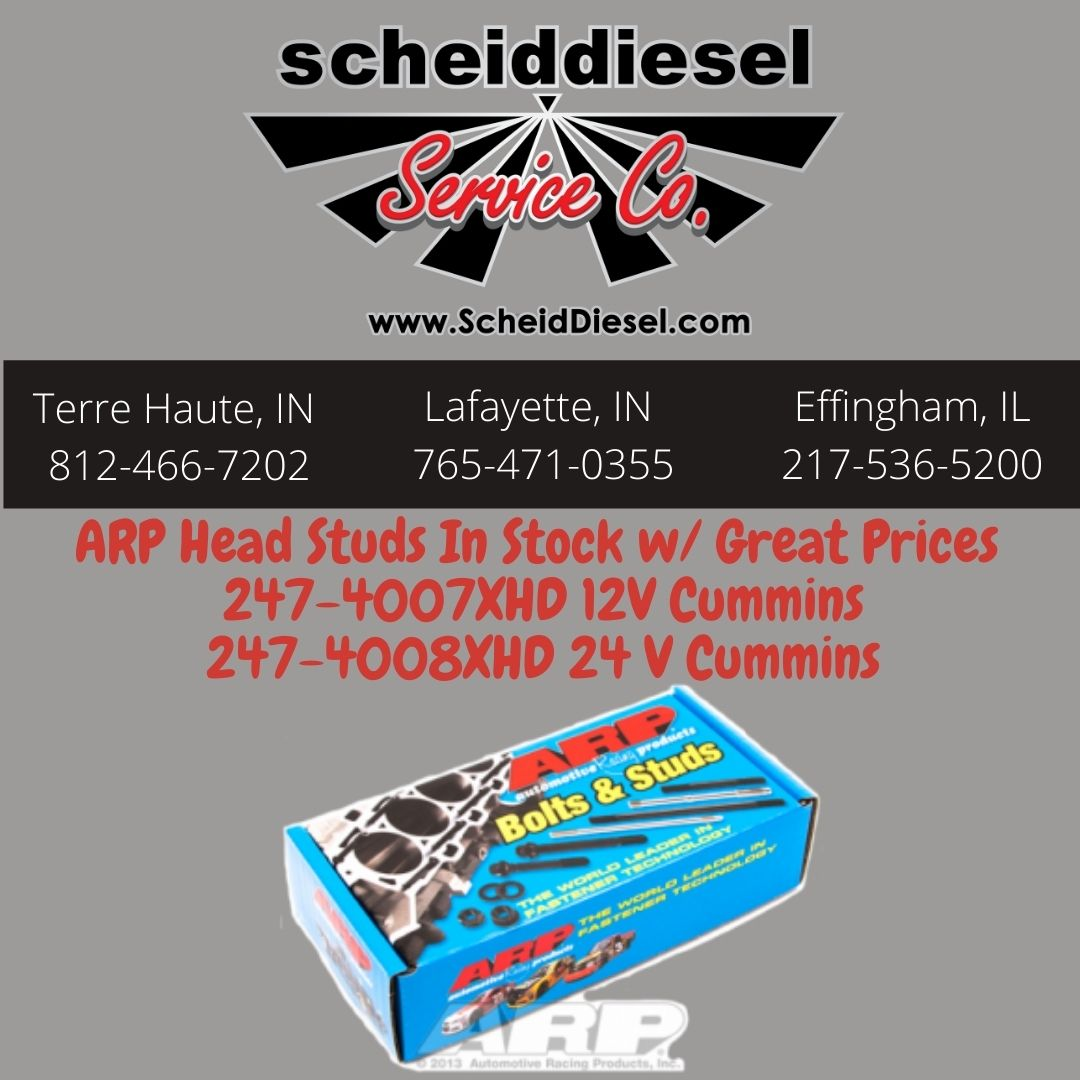 ARP Head Studs in Stock at Great Prices!!