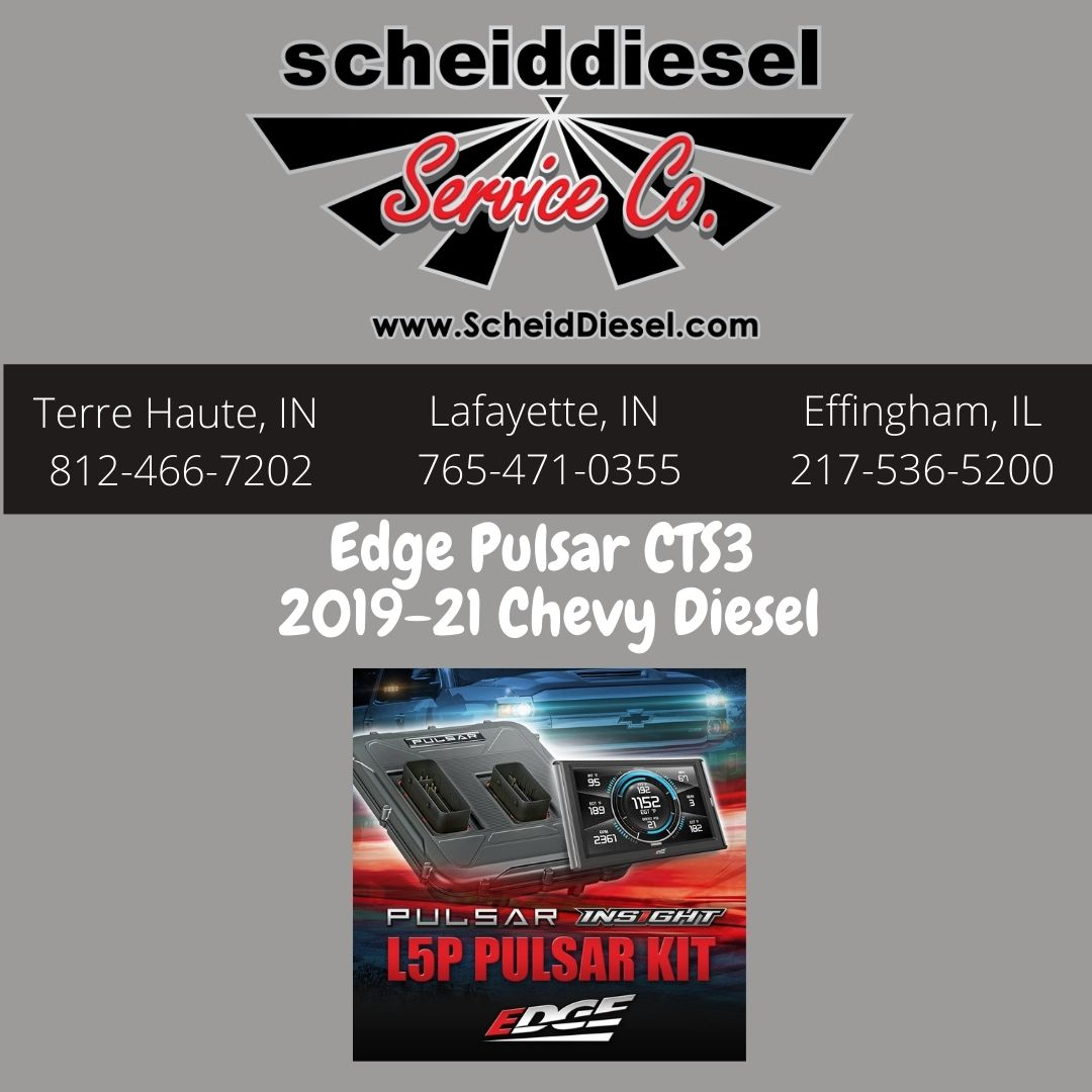 Edge Pulsar CTS3 For 2017-21 Chevy Diesel