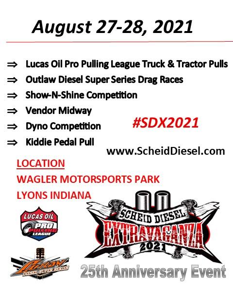 25th Anniversary Scheid Diesel Extravaganza