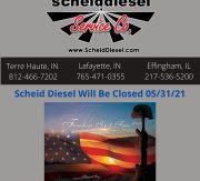 Closed Monday for Memorial Day Holiday