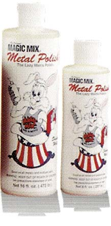 MAGIC MIX METAL POLISH      8 OZ