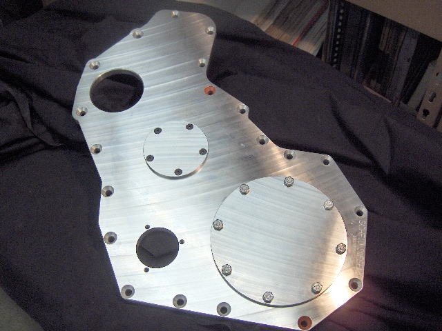 CUMMINS BILLET FRONT GEAR HOUSING COVER