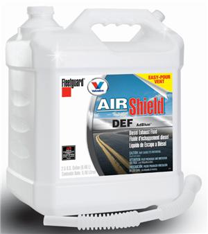 air shield diesel exhaust fluid 2 5 gal treatments additives scheid diesel. Black Bedroom Furniture Sets. Home Design Ideas