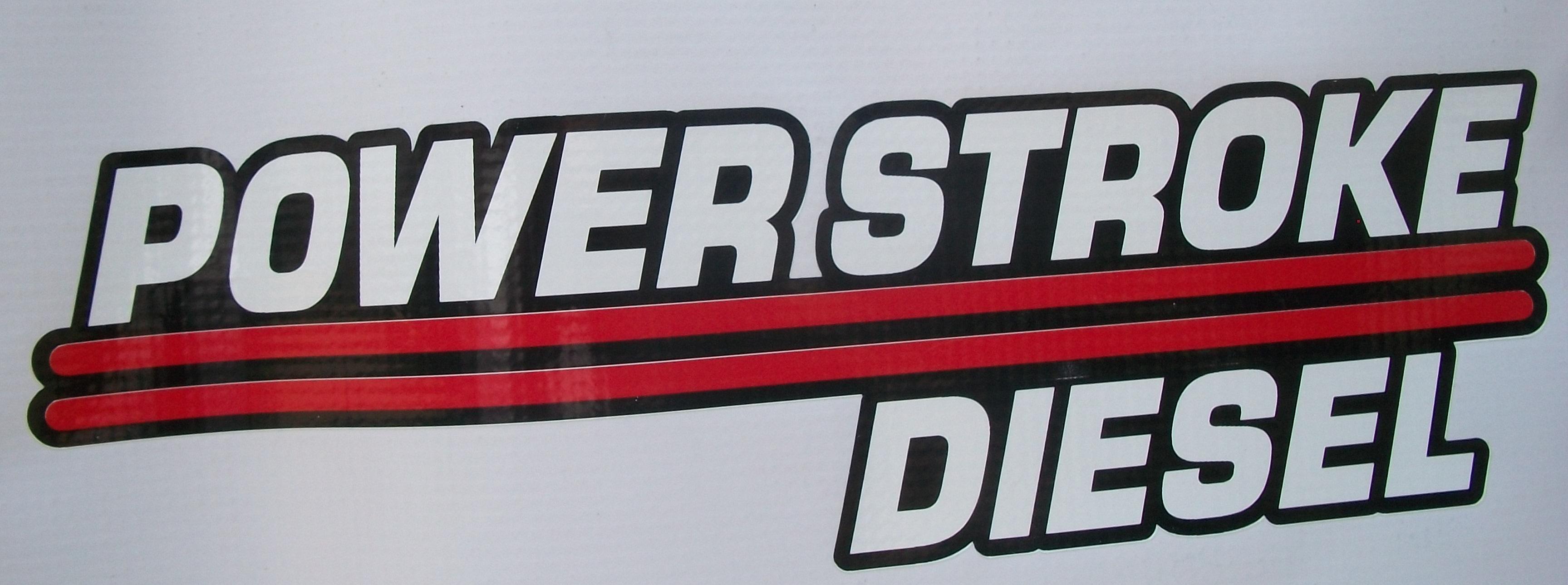 Powerstroke Diesel Decal