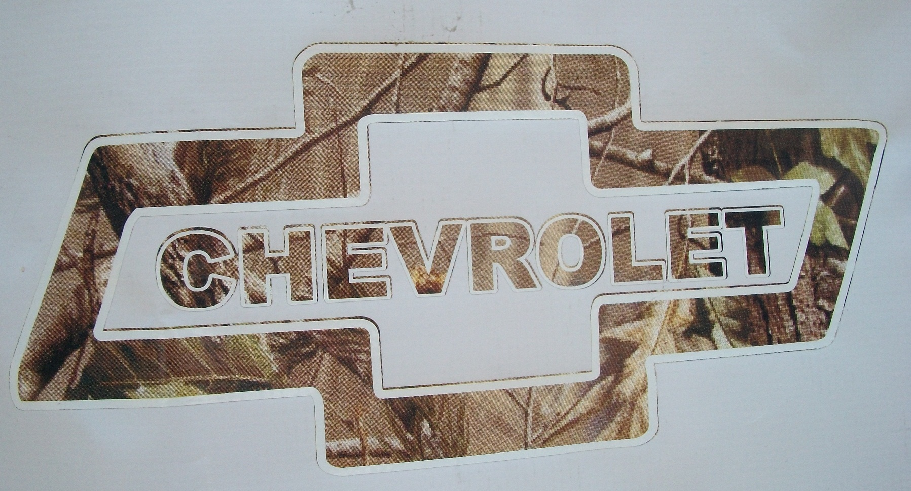 Chevy Bowtie Camo Decal