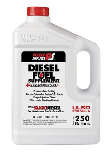 Diesel Fuel Antigel Supplement Plus Cetane Boost 80oz