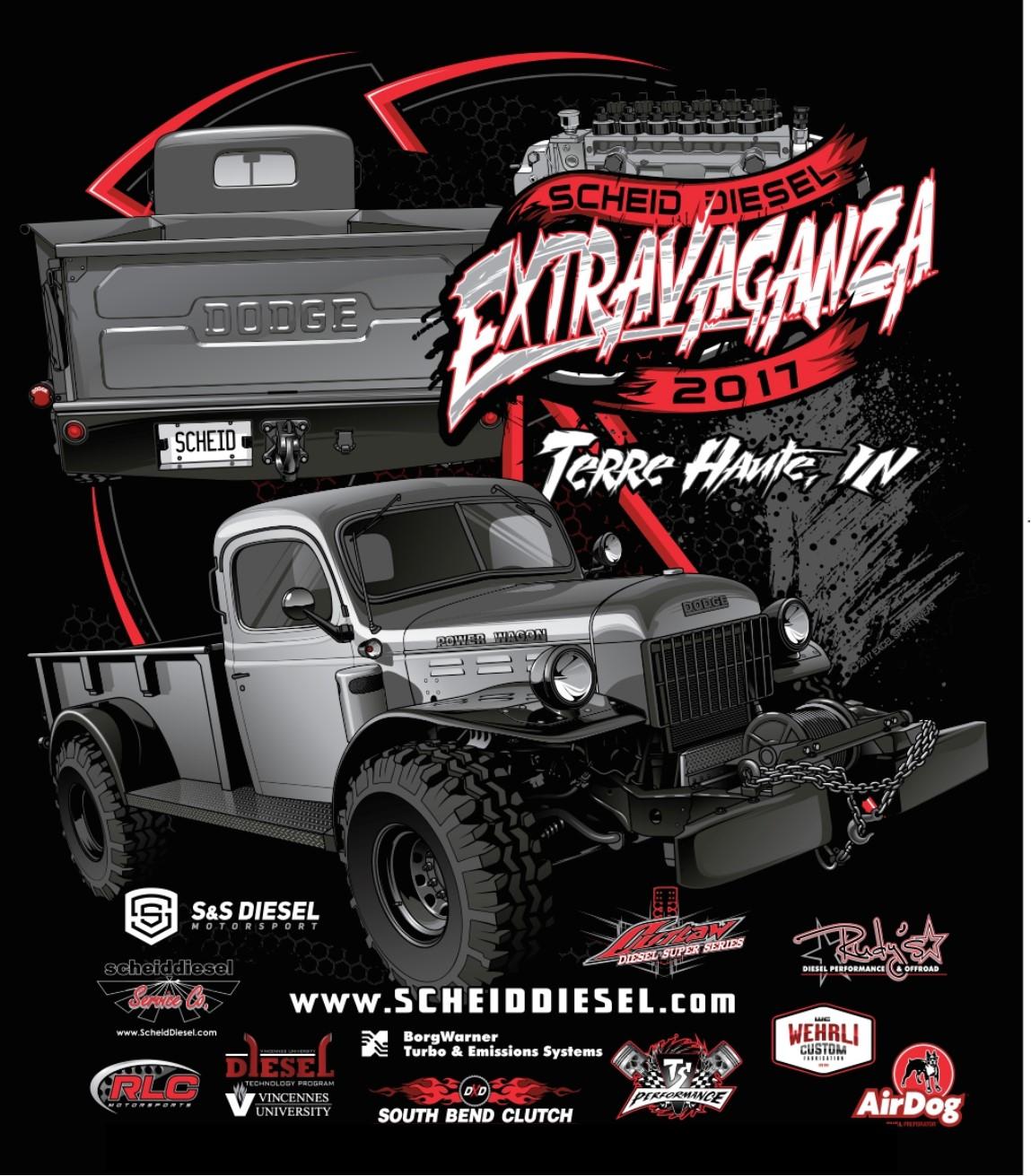 Scheid Diesel Extravaganza Official Website Dates Times