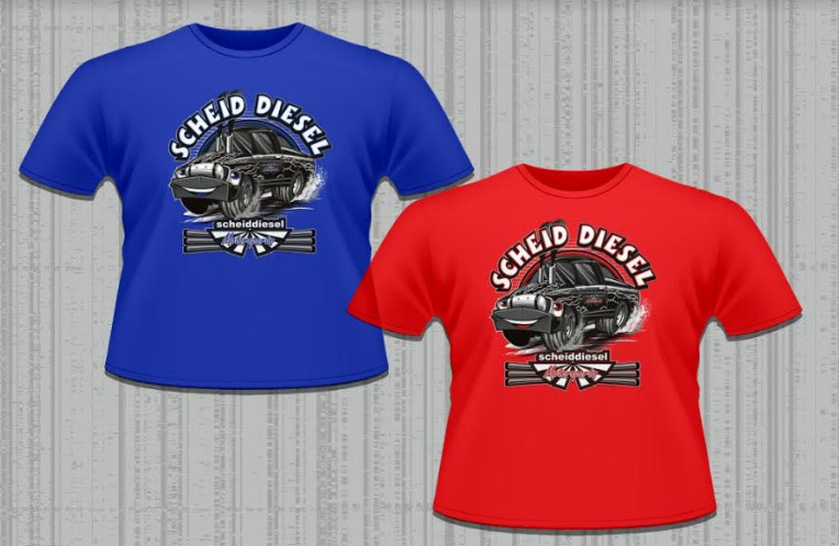 Scheid Diesel Motorsports Kids Shirt Youth T