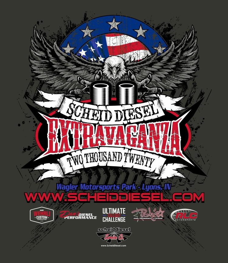 Scheid Diesel Extravaganza 2020 Event Adult Shirts