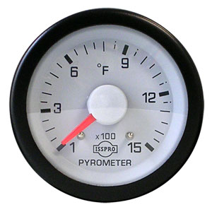 03-06 Dodge Pyrometer 1500 Degree Gauge