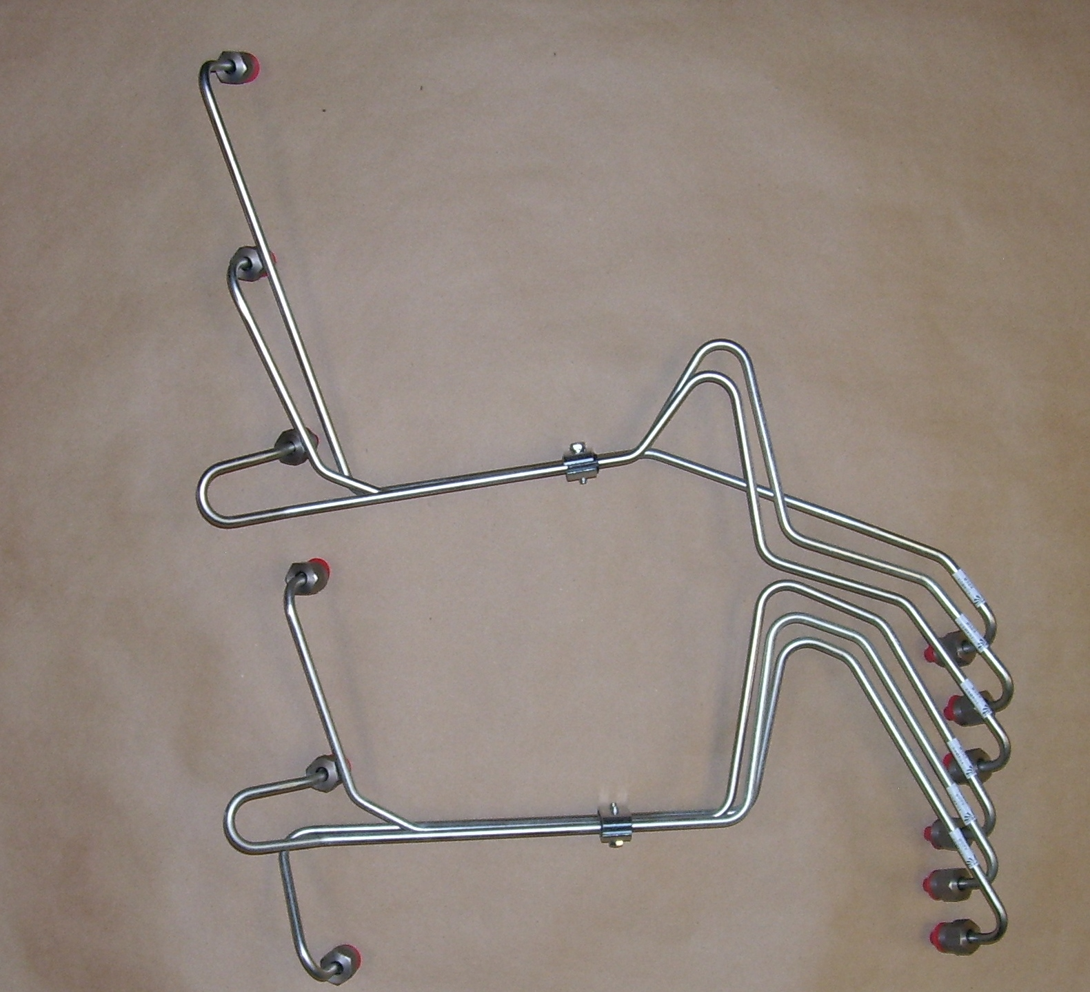 12 VALVE DODGE MILD STEEL FUEL LINES SET