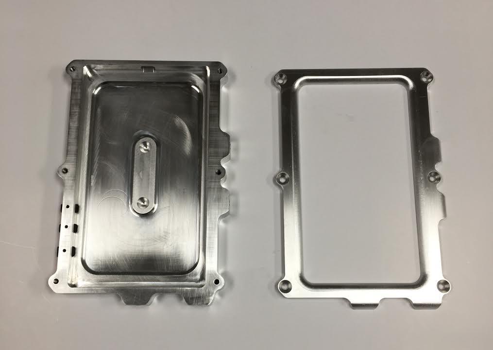 "7"" Corsa Smart Dash Billet Aluminum Case"