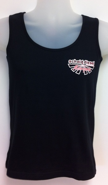 Scheid Diesel Motorsports Black Ladies Tank Top