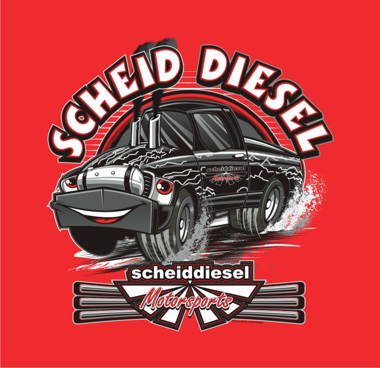Scheid Diesel Motorsports Kids Shirt Youth X-Small