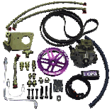 Twin CP3 Fuel System - 2002-04 GM LB7 Duramax With Pump