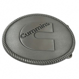 Cummins Pewter Belt Buckle