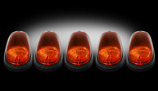 RECON CAB LIGHTS,AMBER 03-10 DODGE