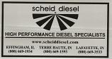 Scheid Diesel Sticker