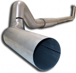 DAL427 94-02 Dodge 2500/3500 Diesel 5.9 Cummins 5Inch Aluminized Tailpipe Section For S6112Al