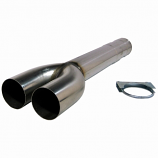 MDDS36 Dodge Replaces All 36 In. Overall Length Mufflers 36 In. Dual Muffler Delete Pipe