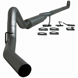 S6004P Gm 01-07 2500/3500 Duramax, Ec/Cc Down Pipe Back, Single Side, Off-Road 74Lbs