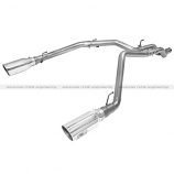 """3"""" SS Exhaust w/6"""" Tip Polished, DPF Back"""