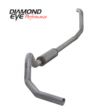 "Diamond Eye 4"" Exhaust 1998-2003 Powerstroke E-series Alum"
