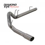 "Diamond Eye 4"" Exhaust 2008-2010 Powerstroke F250/F350 Stainless"