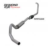 """Diamond Eye 4"""" Exhaust 2003-2007 Powerstroke Excursion Alum"""