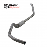 """Diamond Eye 4"""" Exhaust 1999-2003.5 FORD 7.3L POWERSTROKE F250/F350 Stainless"""