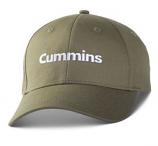 Cummins Olive Twill Cap