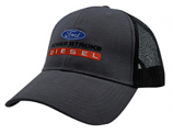 Powerstroke Black and Gray Mesh Hat