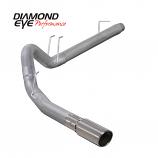 "Diamond Eye 4"" Exhaust 2008-2010 Powerstroke F250/F350 Alum"