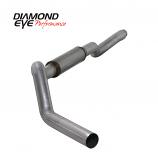 "Diamond Eye 5"" Single Exhaust, 2006 -early 2007 Duramax, Stainless"