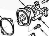 Vacuum Pump Seal Kit 91-02 Dodge