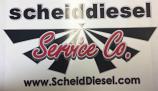 Scheid Diesel Logo Sticker Large