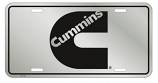 Cummins Stainless License Plate