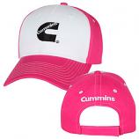 Cummins Ladies Pink Cap