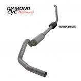 "Diamond Eye 4"" Exhaust System Kit 1994-1997.5 FORD 7.3L POWERSTROKE F250/F350 ST"